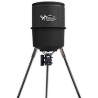 Wildgame Innovations 40 Gal Quick Set Feeder for Deer, Turkey and more