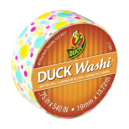 Duck Brand Washi Crafting Tape, 0.75