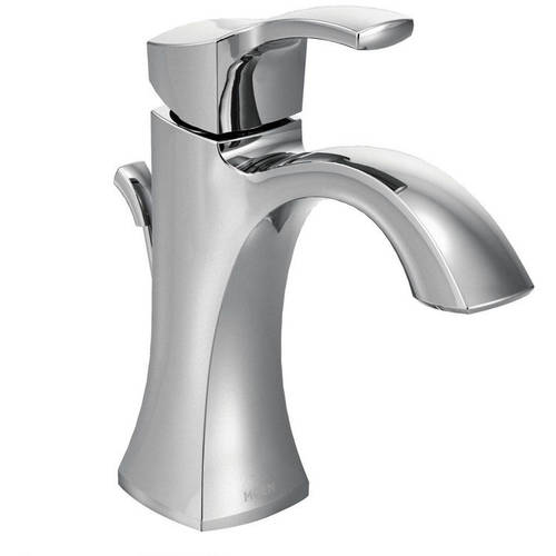 Moen 6903ORB Voss Single Hole Bathroom Faucet, Available in Various Colors
