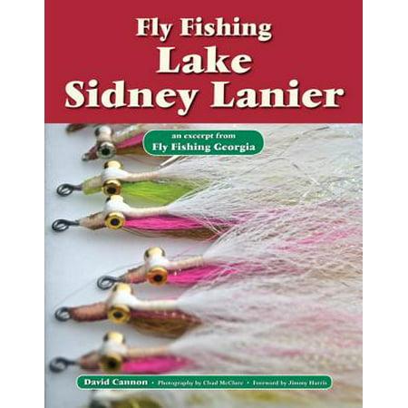 Fly Fishing Lake Sidney Lanier - eBook (Best Fishing Spots On Lake Lanier)
