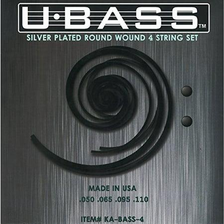 Round Wound Strings - Kala KA-BASS-4 Metal Round Wound U-Bass Strings