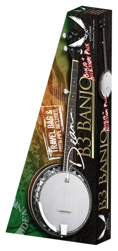 Dean Banjo Pack with Gig Bag Strap and Pitch Pipe by Dean