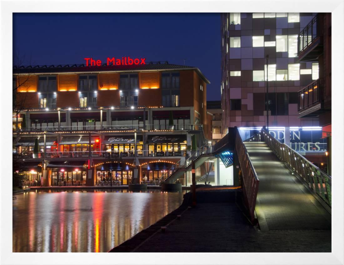 The Mailbox, Canal Area, Birmingham, Midlands, England, United Kingdom, Europe Framed Print Wall... by Art.com