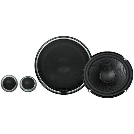 KENWOOD KFC-P710PS Component Speaker System (6.5 Inch) ()