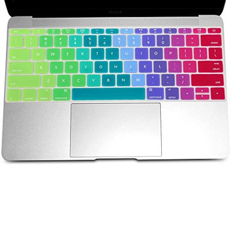 Keyboard Cover Silicone Rubber Skin for Macbook 13