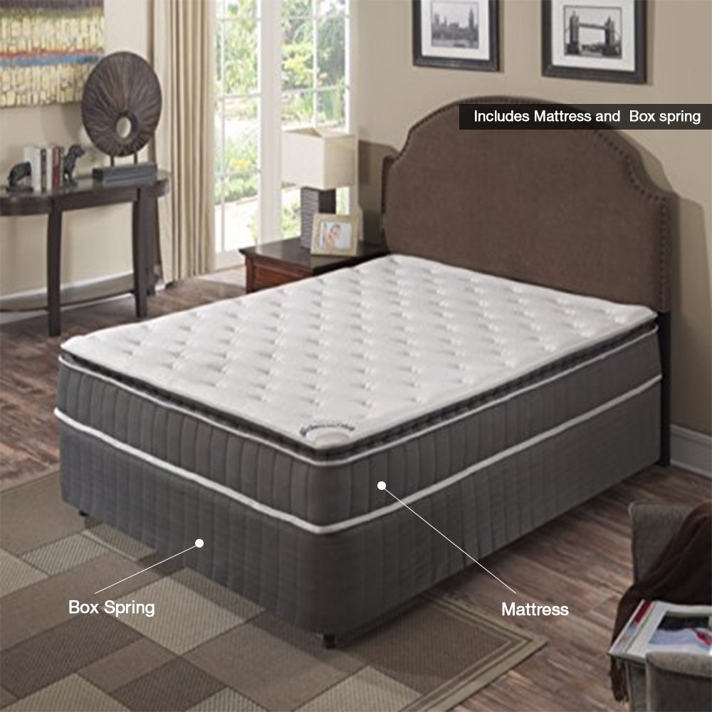 Continental Sleep Acura Collection Medium Firm 10 Inch Innerspring Mattress