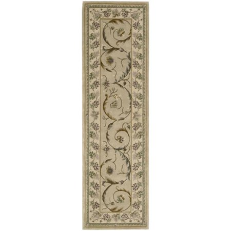Versailles Olive - Nourison Versailles Palace Collection Runner Area Rug