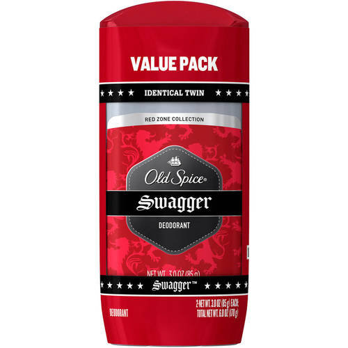 Old Spice Red Zone Swagger Deodorant, 3 oz Twin Pack