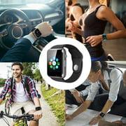 Bluetooth Smart Watch - Touchscreen Sport Smart Wrist Watch Smartwatch Fitness Camera Pedometer SIM TF Card Slot Compatible Samsung Android iPhone iOS Men Women Kid