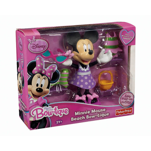 Fisher-Price Minnie Mouse Basic Beach Bow-Tique Play Set