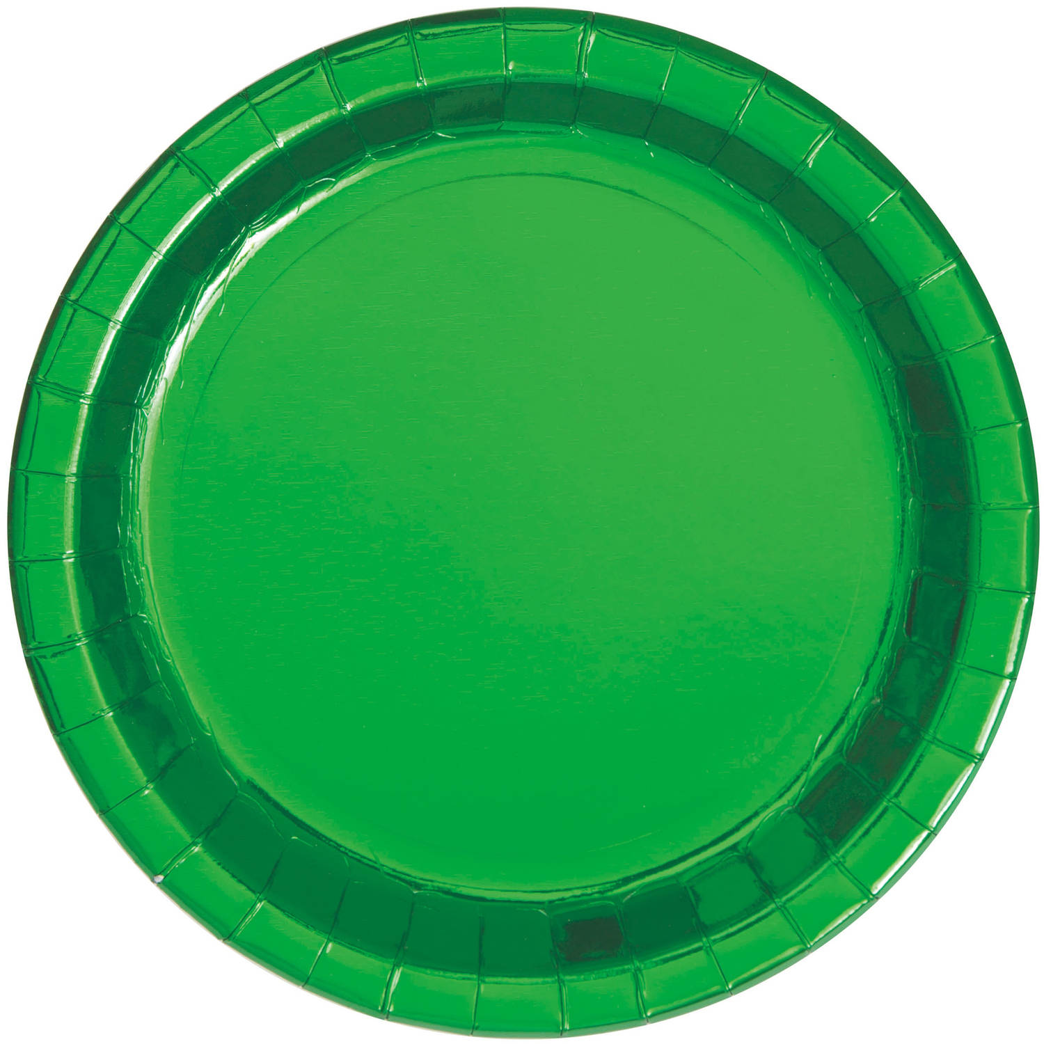 Paper Plates, 9 in, Gold Foil, 8ct