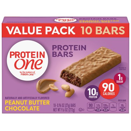 Protein One 90 Calorie Peanut Butter Chocolate 10 ct, 9.6