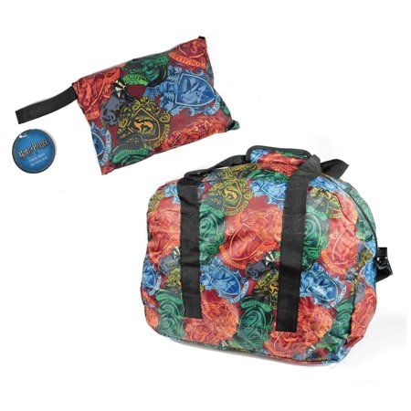 Harry Potter Packaway Duffle Bag w/ Carry Pouch (Best Mens Carry On Duffel)
