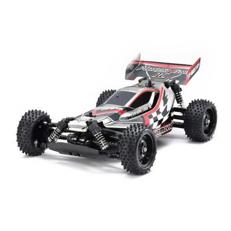 Tamiya America, Inc 1/10 Plasma Edge II TT-02B 4WD Off-Road Buggy Kit, Black Metallic, TAM47366
