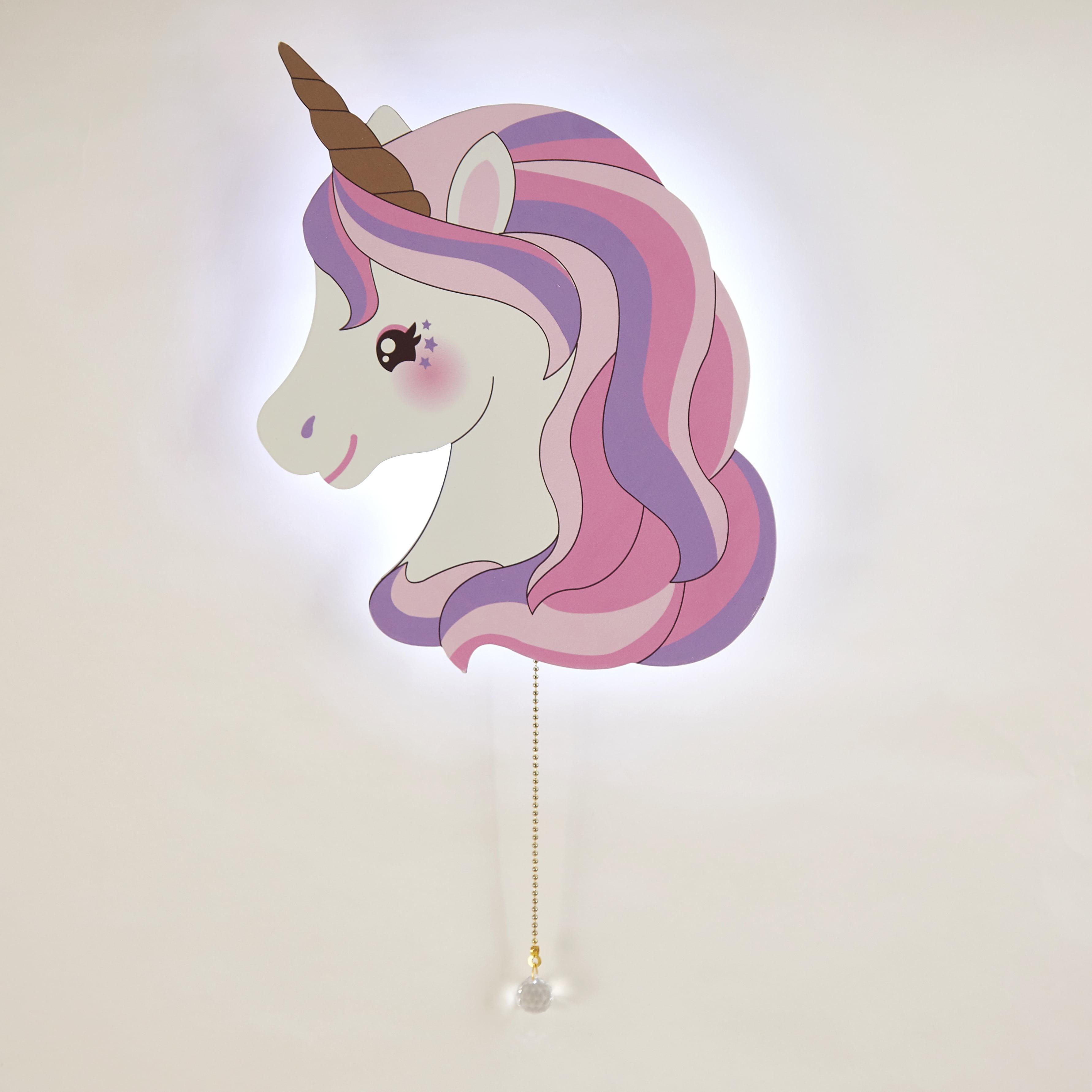 Heritage Kids Pink Unicorn LED Light