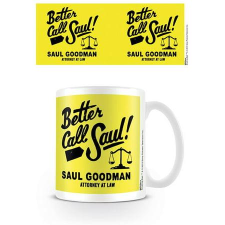 Better Call Saul - Ceramic Coffee Mug / Cup (Saul Goodman - Attorney At