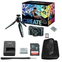 Canon PowerShot G7 X Mark II Digital Camera Video Creator Bundle