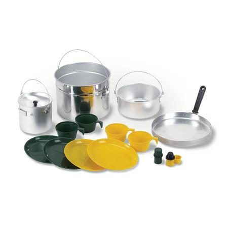Stansport Aluminum Cook Set - 4 Person