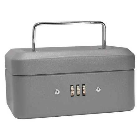 BARSKA CB11782 Cash Box,Compartments 4,2 in. H G4477676 by Barska