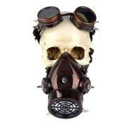 Best Gas Masks - Steampunk Rivet Vintage Gas Mask Goggles Cosplay Costume Review