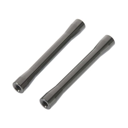 Axial Threaded Alum Link 7.5x56.5mm Gray (2), AXIC4423