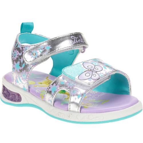 Disney Toddler Girls' Tinkerbell Light Up Sandals