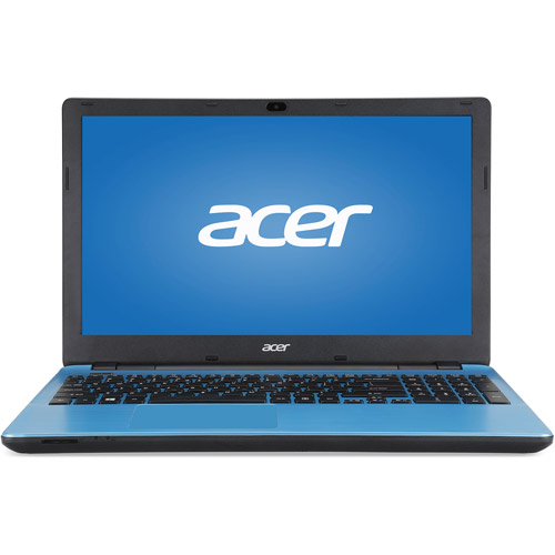 "Acer Blue 15.6"" E5-571 Laptop PC with Intel Core i3-4005U Dual-Core Processor, 4GB Memory, 500GB Hard Drive and Windows 7 Home Premium"