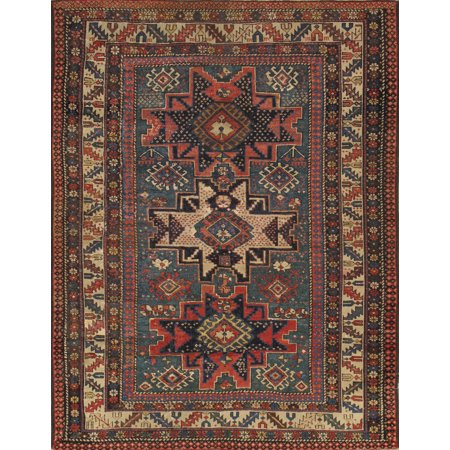 Pasargad Home Kazak Collection Hand-Knotted Lamb's Wool Area Rug ()