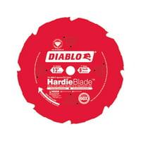 Diablo D1208DH 12-Inch 8T HardiBllade Fiber Cement Saw Blade