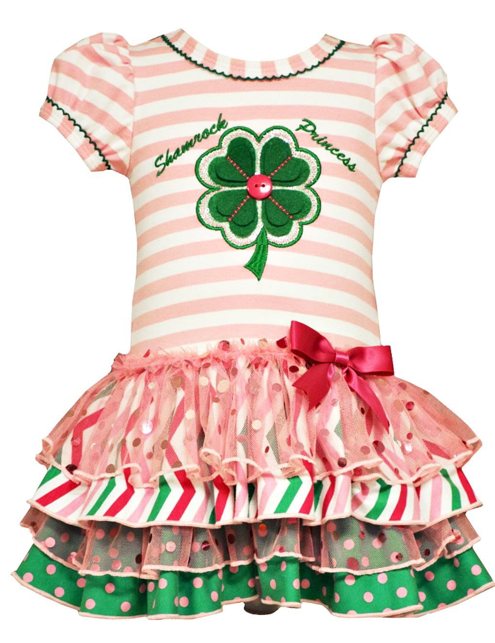 Bonnie Jean Baby Girls Shamrock Princess St Patricks Dress 18 months