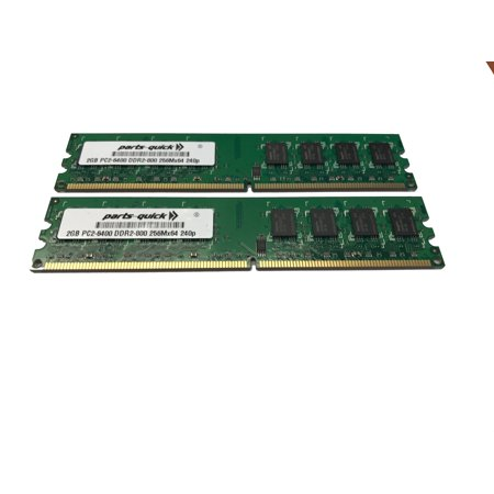 - 4GB (2X 2GB) Kit DDR2 PC2-6400 RAM Memory Upgrade for Dell Optiplex 160 210L 330 360 740 755 760 960 (PARTS-QUICK)