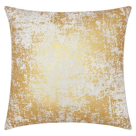 Nourison Luminecence Distressed Metallic Decorative Throw Pillow, 20