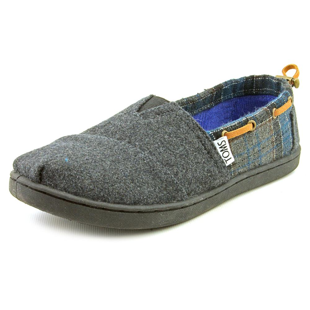 Toms Bimini Alpargata   Round Toe Canvas  Loafer