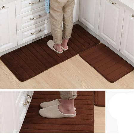 20x3062x20 Memory Foam Mat Absorbent Slip Resistant Rug Pad