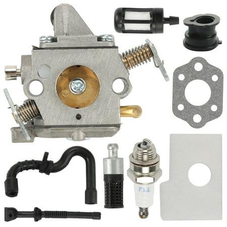 HIPA Carburetor For Stihl 017 018 MS170 MS180 Chainsaw Zama C1Q S57B Carburetor Air filtre fuel Kit Tune Up kit 1130 120