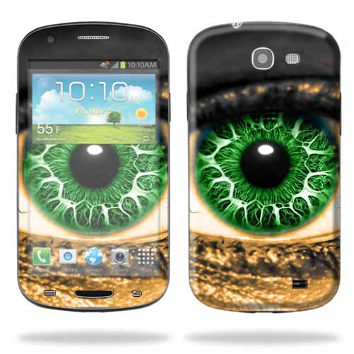 Mightyskins Protective Skin Decal Cover for Samsung Galaxy Express Cell Phone AT&T wrap sticker skins Eye On You
