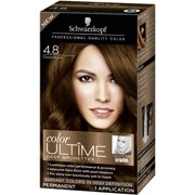 Schwarzkopf Color Ultime Deep Brunettes Hair Coloring Kit, 4.8 Cocoa Brown