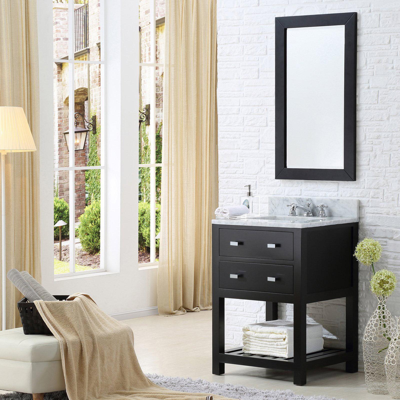 Water Creation Madalyn 24 In Single Bathroom Vanity Walmart Com Walmart Com