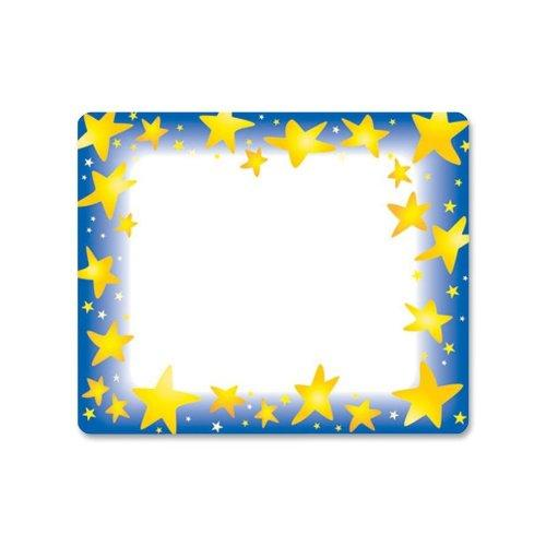 "Trend Star Bright Name Tag - 3"" X 2.50"" - 36/pack (T68022)"