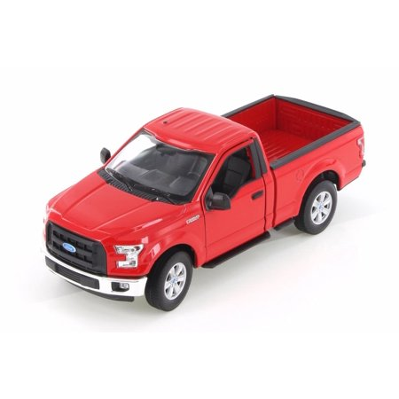 2015 Ford F-150 Regular Cab Pick Up, Red - Welly 24063WR - 1/24 Scale Diecast Model Toy (Regular Cab Models)