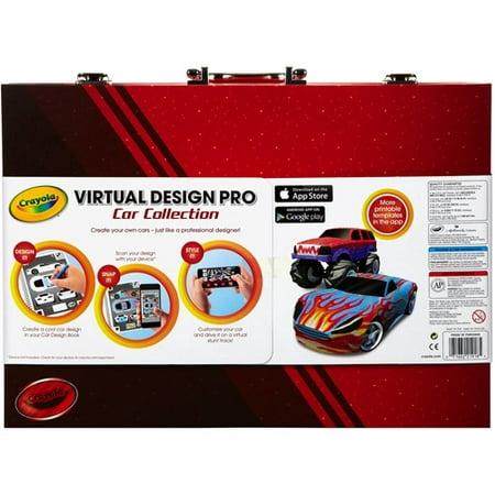 crayola virtual design pro car collection walmart com
