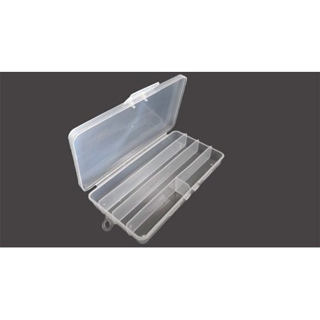 5 Compartment Plastic Storage Box : ( Pack of  2 Pcs.)  (STOW-AWAY: TJ05-08704-Z02)