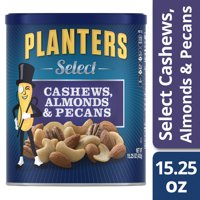 Planters Select Cashews, Almonds & Pecans, 15.25 oz Can