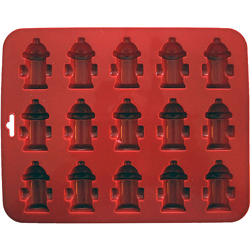"Mini Fire Hydrants Silicone Cake Pan, 8.5"" x 6.75\ by K9 Cakery"