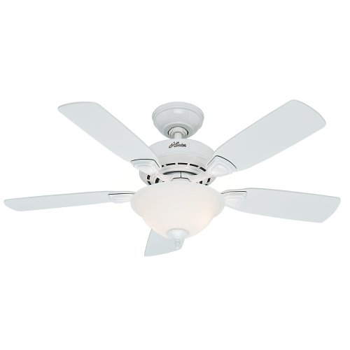 Hunter Company 52080 Caraway 44-Inch Snow White Ceiling F...