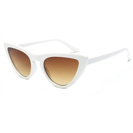outdoorline Women PC Frame Lens Cat Ear Sun Glasses ...