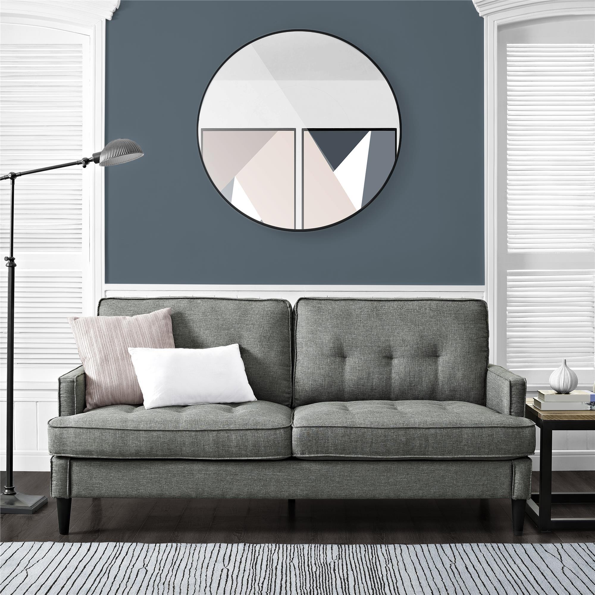 Realrooms Dana Mid Century Modern Sofa Living Room Couch Gray Walmart Com