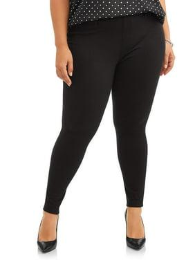 Terra & Sky Women's Plus Size Full Length Super Soft Jegging