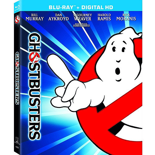 Ghostbusters (4K-Mastered) (Blu-ray   Digital HD) (With INSTAWATCH) (Widescreen)
