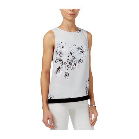 Armani Womens Printed Shell Knit Blouse 2930 (Armani Suit)